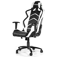 AK Racing  Player 6014 Gaming Chair Black White - Click below for large images