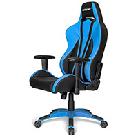 AK Racing  Premium Plus Gaming Chair Blue - Click below for large images