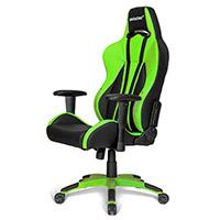 AK Racing  Premium Plus Gaming Chair Green - Click below for large images