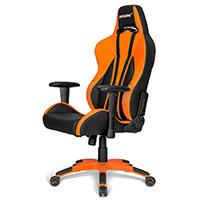 AK Racing  Premium Plus Gaming Chair Orange - Click below for large images