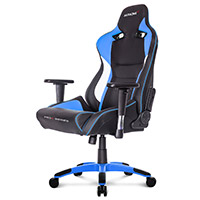 AK Racing  Pro X Gaming Chair Blue - Click below for large images