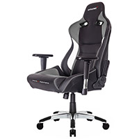 AK Racing  Pro X Gaming Chair Grey - Click below for large images