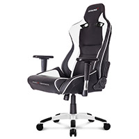 AK Racing  Pro X Gaming Chair White - Click below for large images