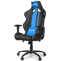 AK Racing  Rush Gaming Chair Blue - Click below for large images