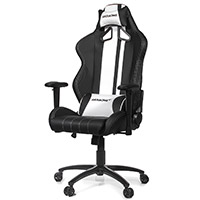 AK Racing  Rush Gaming Chair White - Click below for large images