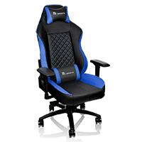 Thermaltake Tt E-Sports GTC 500 Black & Blue Comfort Series Gaming Chair  - Click below for large images