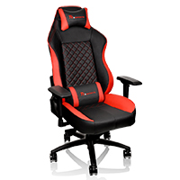 Thermaltake Tt E-Sports GTC 500 Black & Red Comfort Series Gaming  - Click below for large images