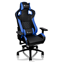 Thermaltake Tt E-Sports GTF100 Black & Blue Fit Series Gaming Chair - Click below for large images