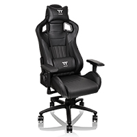 Thermaltake Tt E-Sports XF100 Black Fit Series Gaming Chair  - Click below for large images