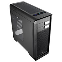 Aerocool Aero-1000 Black Mid-Tower Gaming Case With Window - Click below for large images