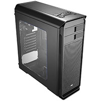 Aerocool Aero-500 Black Gaming Case With Window & Card Reader  - Click below for large images