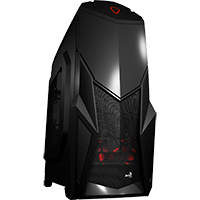 Aerocool Cruise Star Advance Mid-Tower With Card Reader & Window - Click below for large images