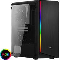 Aerocool Rift Midi Tower Case - Click below for large images