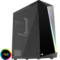 Aerocool Shard Mid-Tower RGB LED - Click below for large images