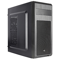 Aerocool SI5101 Mid Tower Case Black 1 x Rear Black Fan 1 x USB3 2 x USB2  - Click below for large images