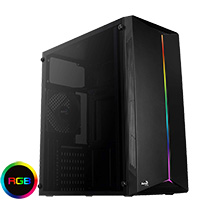 Aerocool Split Midi Acrylic Side Panel RGB Strip  - Click below for large images