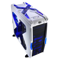 Aerocool Strike-X Advance White Mid-Tower Gaming Case USB3 Toolless - Click below for large images