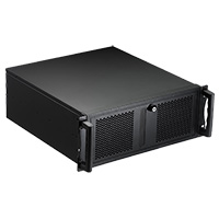 Codegen 4U Rackmount 500mm Deep V2 Butterfly Lock 2 x 80mm & 1 x 120mm Fans inc. - Click below for large images