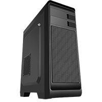 CiT Hero Midi Case with 1 x USB3 No Side Window - Click below for large images