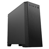 CiT Serenity Micro Gaming (MATX) Black Chassis Ultra Silent with 120mm Fan Included - Click below for large images