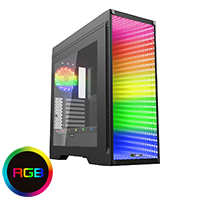 Game Max Abyss ATX Full Tower Temp Glass Front Panel - Click below for large images