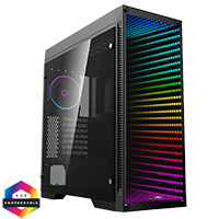 GameMax Abyss ARGB Full Tower TG Front Panel TG Side Panel - Click below for large images