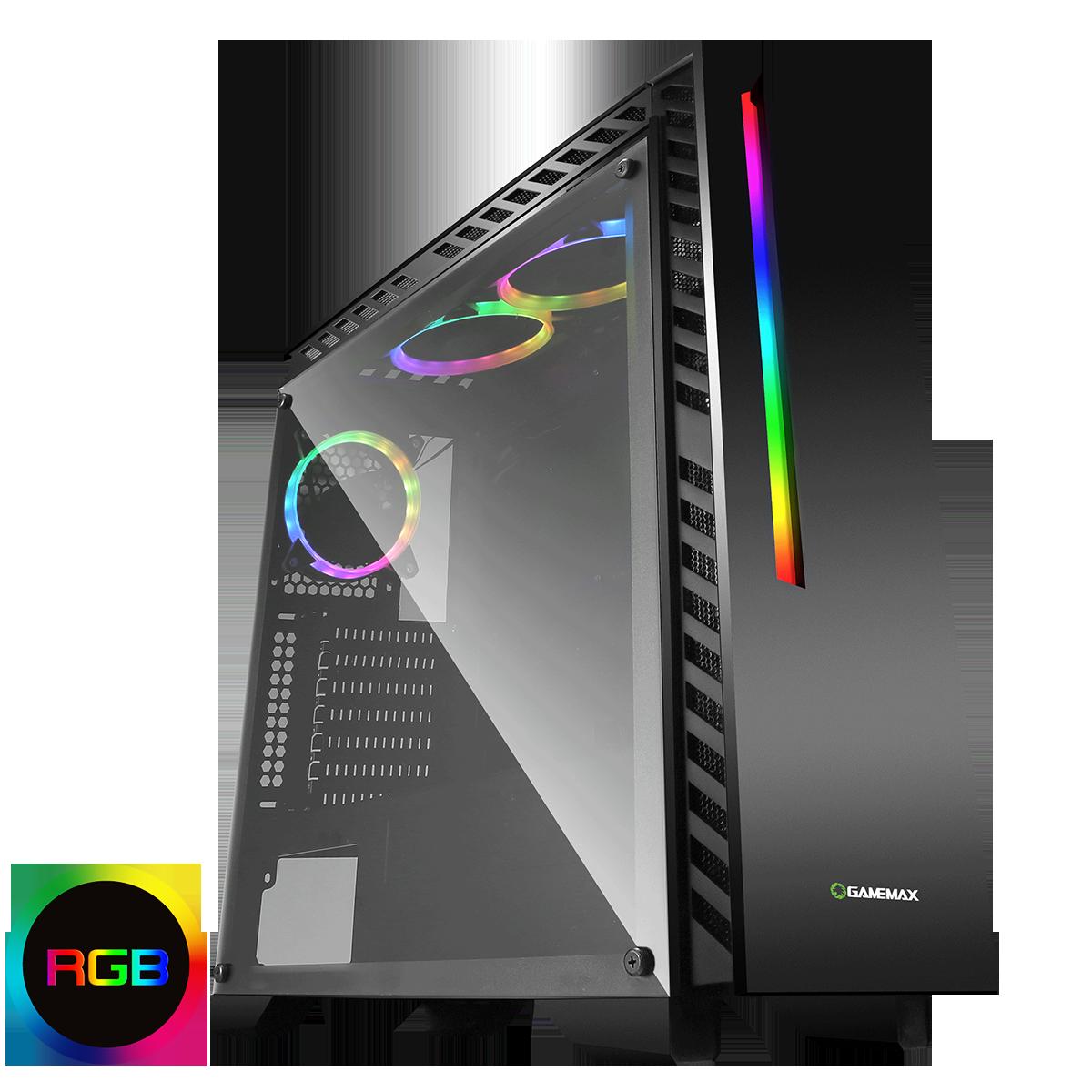 NEW!! Chroma Intel Core i5 4440 Gaming PC GTX 1050 or 1060 Graphics SPO