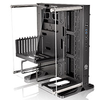 Thermaltake Core P3 Mid Tower ATX Case with Side Acrylic Side with 2 x USB3 - Click below for large images