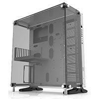 Thermaltake Core P5 Snow Mid Tower ATX Case With Tempered Glass Sides and Front - Click below for large images