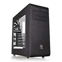 Thermaltake Core V31 Midi Gaming Case USB3 x 2 Side Window Toolless Modular Bays - Click below for large images