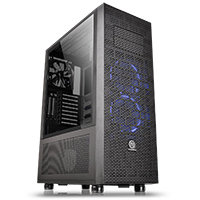 Thermaltake Core X71 Tempered Glass Edition Black Full Tower Case - Click below for large images