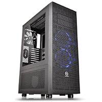 Thermaltake Core X71 Black Full Tower Case & Side Window - Click below for large images