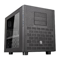 Thermaltake Core X9 Stackable Black E-ATX Case with Side Window + 4x USB 3.0 - Click below for large images