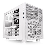 Thermaltake Core X9 Stackable White E-ATX Case with Side Window + 4x USB 3.0 - Click below for large images