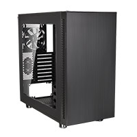 Thermaltake Suppressor F31 Case Black With Side Window - Click below for large images