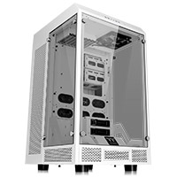 Thermaltake Tower 900 White Case E-ATX With Tempered Glass Sides - Click below for large images