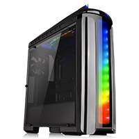 Thermaltake Versa C22 Mid Tower Case with Side Window & RGB LED - Click below for large images