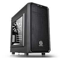 Thermaltake Versa H15 M-ATX Gaming Case With Side Window USB3 Black Interior - Click below for large images