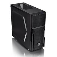 Thermaltake Versa H21 Midi Mesh Tower Case Toolless USB3 Black Interior12cm Fan - Click below for large images