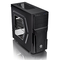 Thermaltake Versa H21 Tower Case With Side Window USB3 Black Interior12cm Fan - Click below for large images