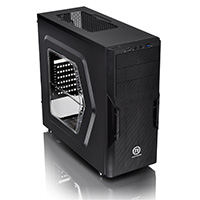 Thermaltake Versa H22 Tower Case With Side Window USB3 Black Interior12cm Fan - Click below for large images