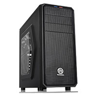 Thermaltake Versa H25 Tower Case With SideWindow USB3 Black Interior12cm Fan - Click below for large images