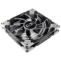 Aerocool Dead Silence 14cm Black Fan Dual Material/Colour FDB Fan 10.8dBA Retail - Click below for large images