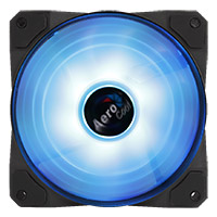 Aerocool Project 7 P7 F12 16.8 Million Colour RGB Fan 120mm Hydraulic Bearing  - Click below for large images