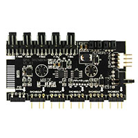 Spectrum ARGB Hub 3 pin with 3 pin power v1.61 Button Operation - Click below for large images