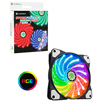 Game Max Storm Force RGB Ring Fan 16.8 Million Colours - Click below for large images