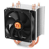 Thermaltake Contac 21 Universal Intel/AMD CPU Cooler 140W Support 92mm PWM Fan - Click below for large images