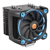 Thermaltake Riing Silent 12 Pro Blue CPU Cooler & Fan - Click below for large images