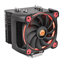 Thermaltake Riing Silent 12 Pro Red CPU Cooler & Fan - Click below for large images