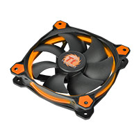 Thermaltake Riing14 Led Orange 140mm Fan - Click below for large images